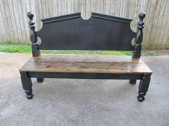 repurposed headboard into bench (26)