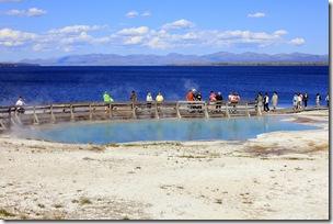 Along the shoreline of Yellowstone Lake, West Thumb Geyser Basin, Yellowsone NP