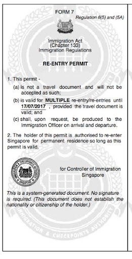 Myth Busters: Renewal of Singapore Permanent Residence Re