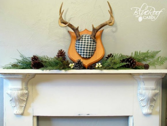 Mantel with Decorative Corbels 11