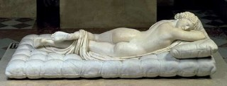 Resultado de imagen de Hermafrodita escultura clásica roma