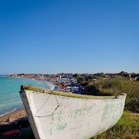 old boat in Vama Veche