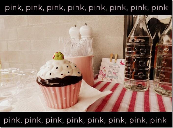 Christmas 2012 pink table