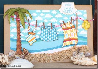 te beach clothesline july