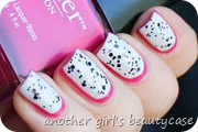 Dragonfruit Nailart Ruffian Nails Butter London OPI (1 von 4)