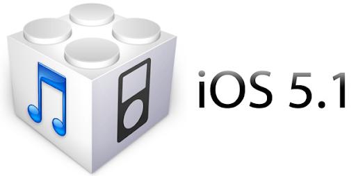 iOS 5.1 logo