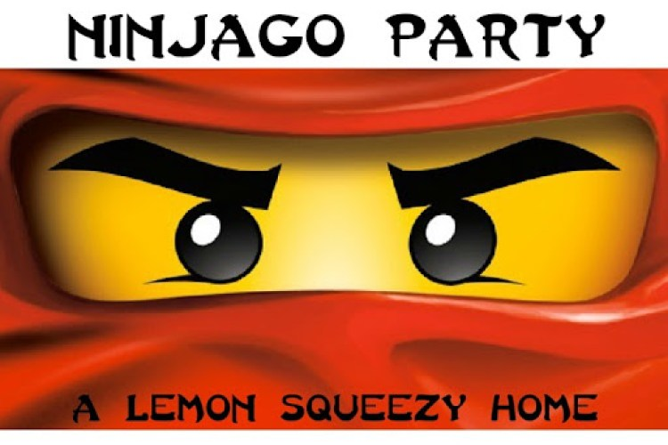 Ninjago Party // lemon squeezy home