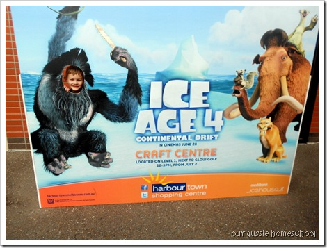 Ice Age Snow Play Area
