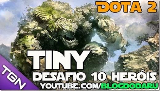 Dota 2: Tiny - Desafio 10 Heróis
