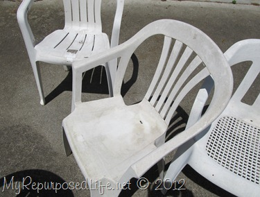 Groovy Spray Paint Plastic Chairs Ibusinesslaw Wood Chair Design Ideas Ibusinesslaworg