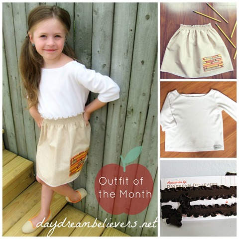 Daydream Believers Designs September Outfit of the Month