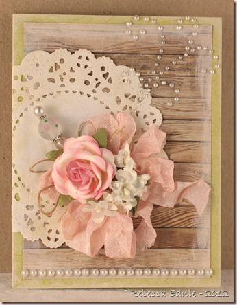 rustic elegance card