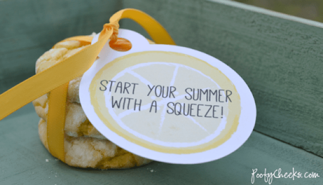 Printable Tags: Start Your Summer with a Squeeze!