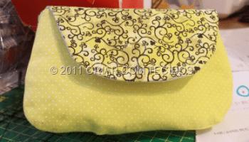 7f451b472 Bolsinha envelope com divisórias e tutorial | Arte com Tecidos