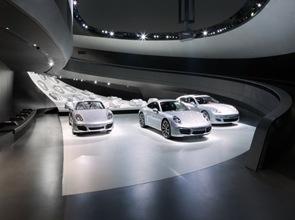 Pabellón-de-Porsche-en-Autostadt-en-Wolfsburg
