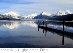 'Winter Fishing on Lake McDonald' photo (c) 2011, glaciernps - license: http://creativecommons.org/licenses/by/2.0/