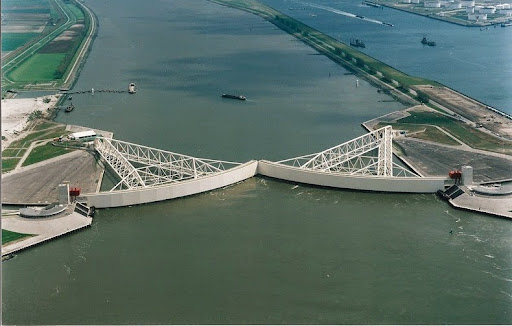 The Netherland's Impressive Storm Surge Barriers   Amusing Planet