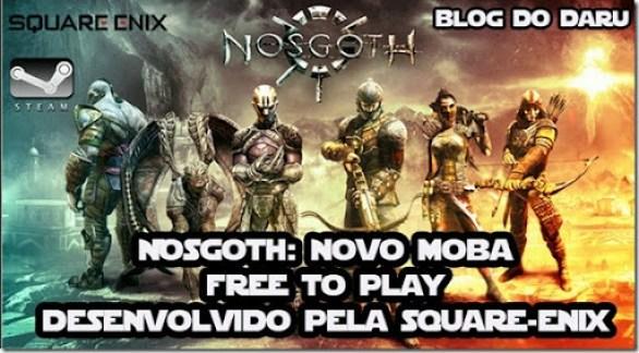 Nosgoth: Novo MOBA Free 2 Play desenvolvido pela Square Enix