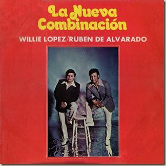 Willie Lopez Orchestra - La Nueva Combinacion (LP Front)