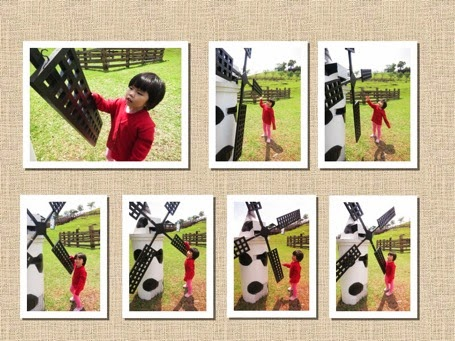 Yining with windmill