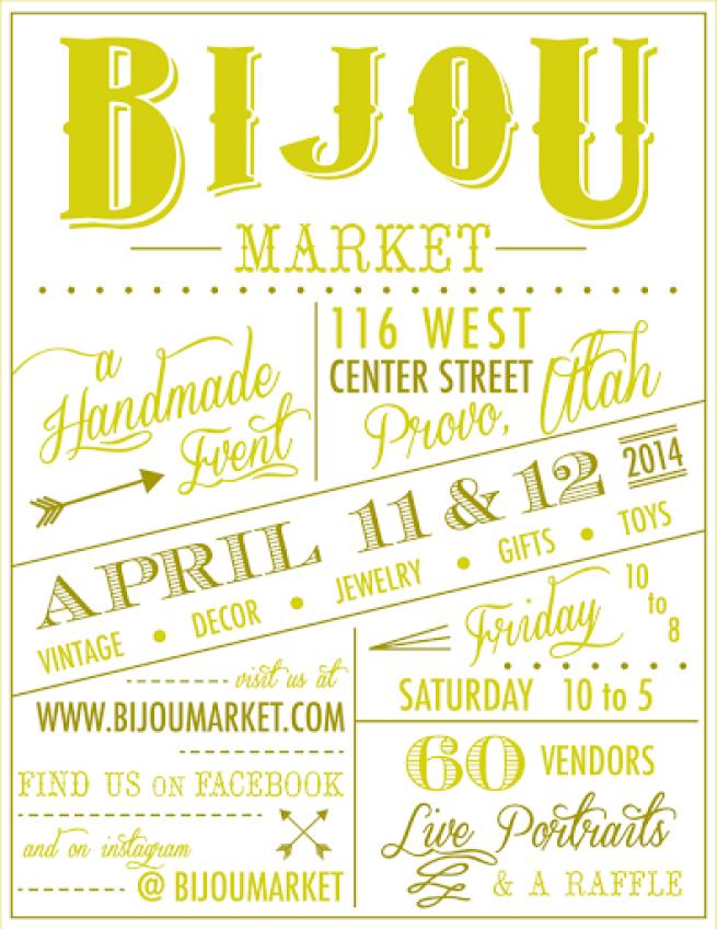 Bijou Market Flyer Spring14 White