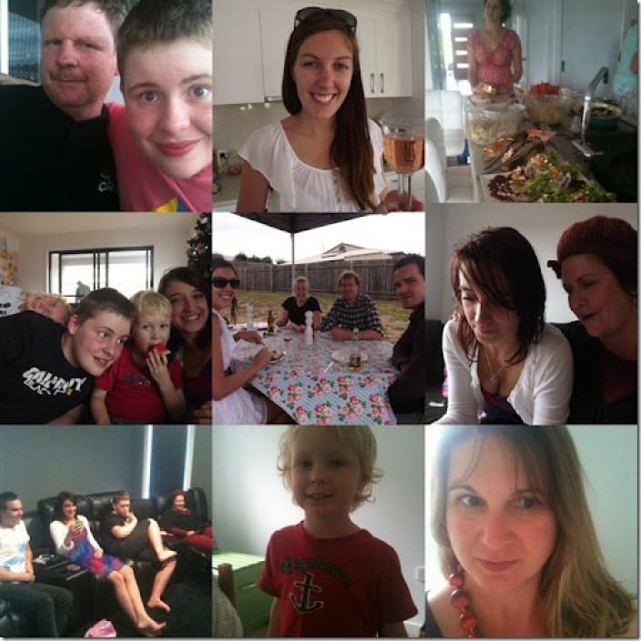 christmas 2012 collage of peeps