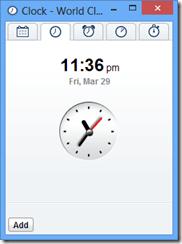 世界時間顯示 World Clock