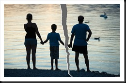 A family is split up after a divorce; Shutterstock ID 86606719; PO: The Huffington Post; Job: The Huffington Post; Client: The Huffington Post; Other: The Huffington Post