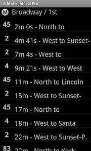 LA Metro Alerts Pro screenshot 3