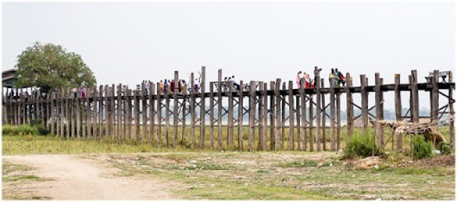 crossing u bein bridge