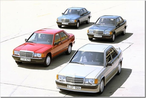 Mercedes Benz 190 IV