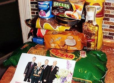 выборы 2012, продуктовый пакет
