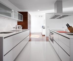 cocina diseño minimalista blanco