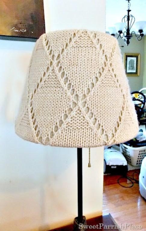 Sweater Lampshade4