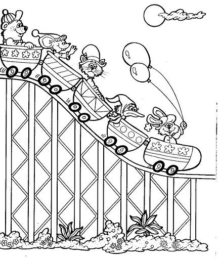 Juguetes de ruedas concebidos para ser montados por los niños, así como muñecos que representen solamente seres humanos) 0,1%: DIBUJOS INFANTILES DE LA FERIA PARA COLOREAR