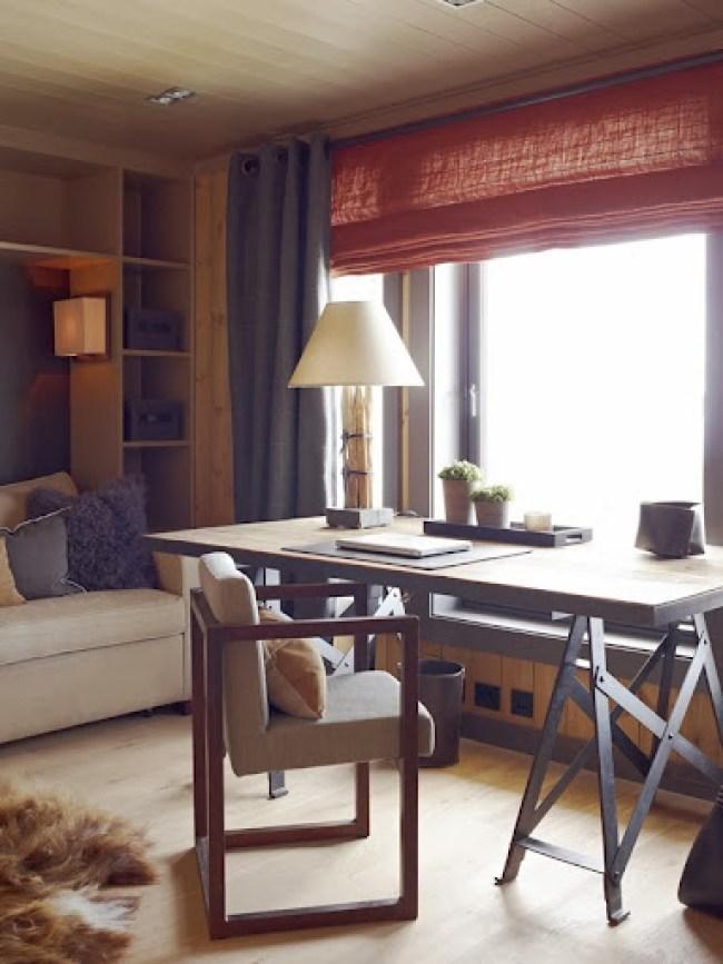 warm elegant norwegian interior design by Krista Hartmann
