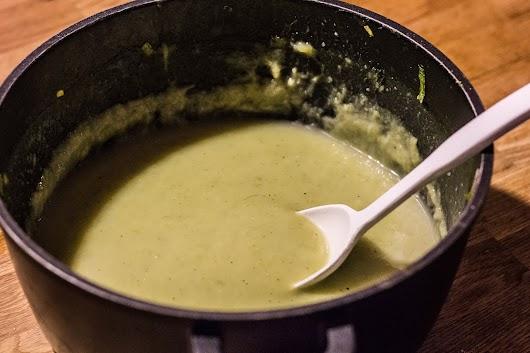 suppe klar til at blive til brød - Mikkel Bækgaards Madblog