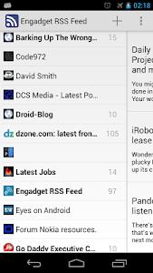 News Reader ( RSS - ATOM ) screenshot 0