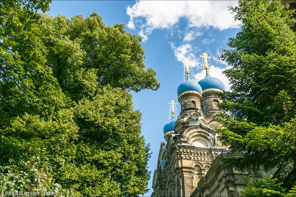 Евротур. Храм святого Симеона Дивногорца в Дрездене