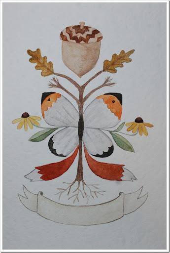 Foxtail Oak Butterfly