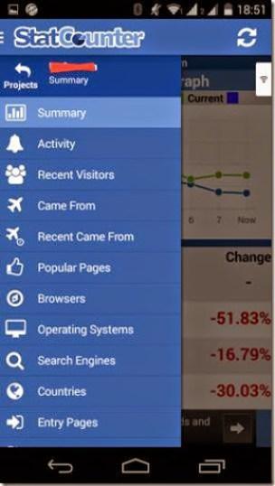 cara mengetahui jumlah kunjungan website dengan android