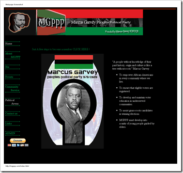 Marcus Garvey - Home Page-102836