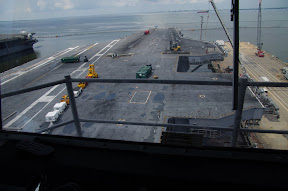 view from the control tower