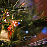 Christmas tree ornaments, shot with Fuji XF 35mm @ F1.4
