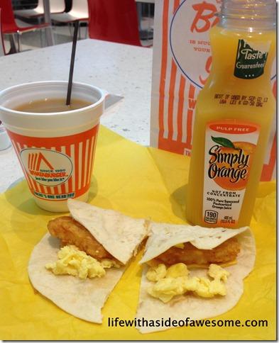 1 breakfast