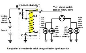Rahmat Hamonangan Harahap: Sistem Lampu SeinTanda Belok