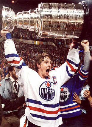 Wayne Gretzky and the Stanley Cup