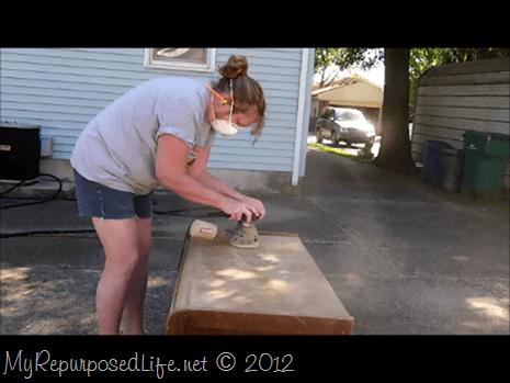 sanding 2