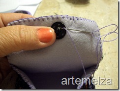 artemelza - bolsa de feltro duplo-20