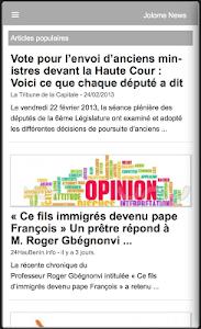 Jolome News screenshot 2